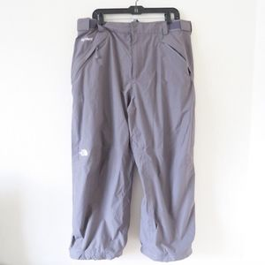 The North Face Gray Waterproof Ski Pants